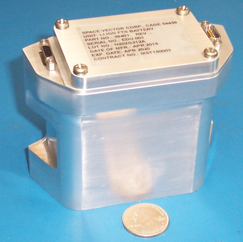 1.5 Ah Li-Ion Flight Safety Battery